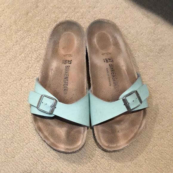 Birkenstock Birkenstock Green ShoesMint ShoesMint Green Sandals Poshmark Sandals g7fb6y